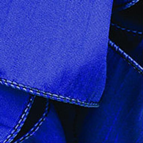 Indigo Wired Woven Ribbon