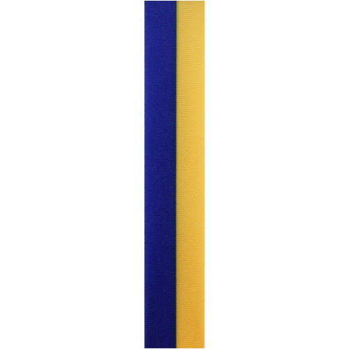 Royal and Gold Vertical Striped Ribbon