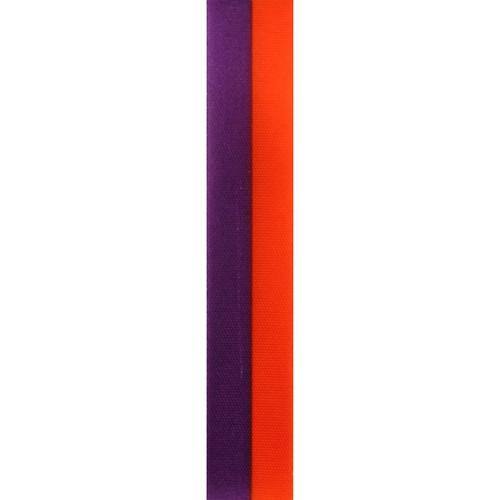 Purple and Orange Vertical Striped Ribbon