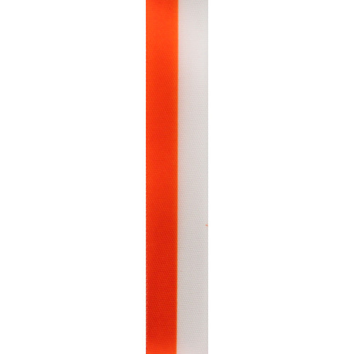 Orange Vertical Striped Ribbon