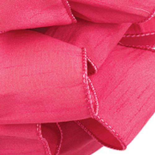 Cyclamen Anisha Wired Edge Ribbon