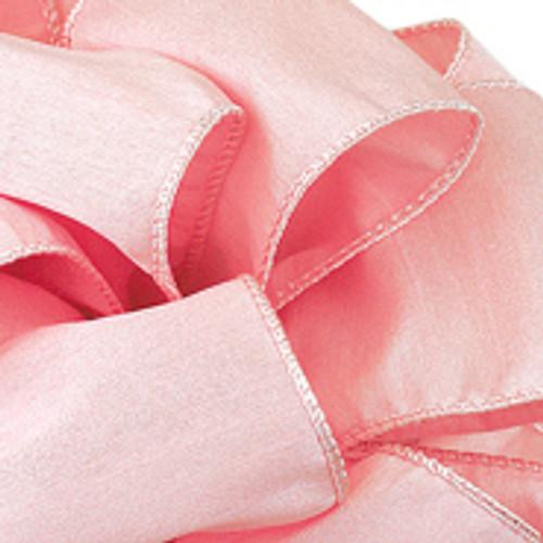 Light Pink Anisha Wired Edge Ribbon