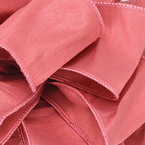 Anisha - Rosewater Wired Edge Ribbon