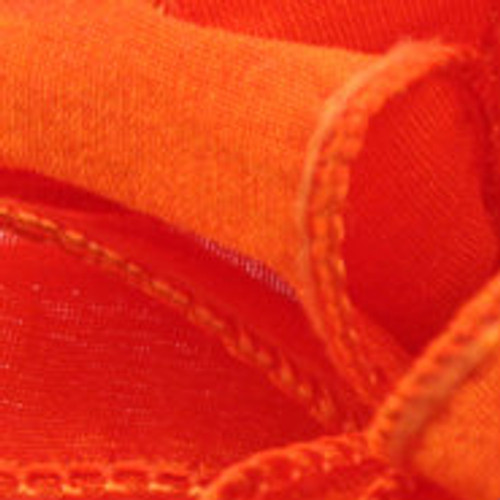 Anisha - Torrid Orange Wired Edge Ribbon