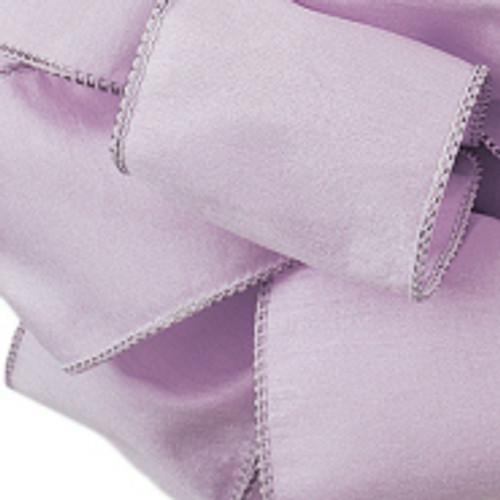 Lilac Anisha Wired Edge Ribbon