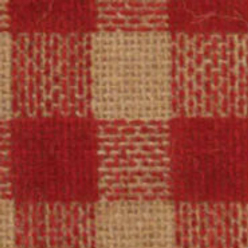 Red Burcheck Ribbon