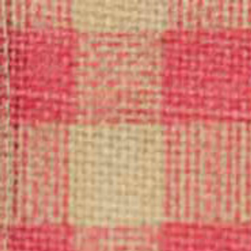 Pink Burcheck Ribbon