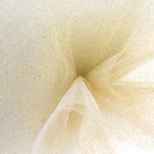 Sparkle Tulle Fabric - Gold
