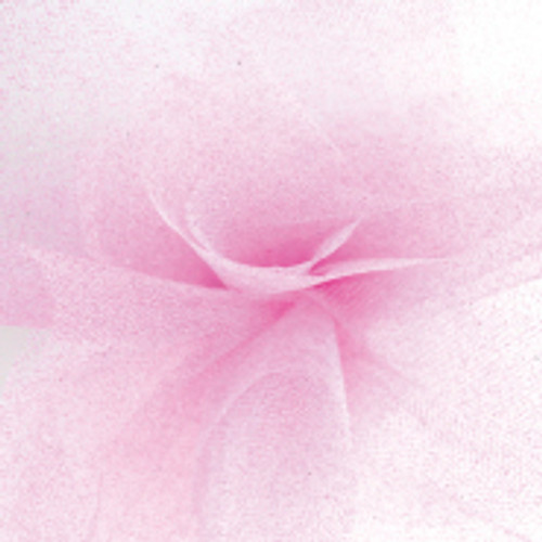 Sparkle Tulle Fabric - Pink