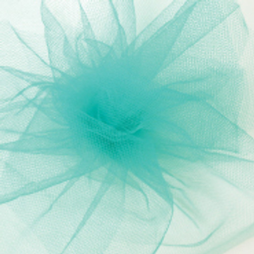 Solid Tulle Fabric - Teal
