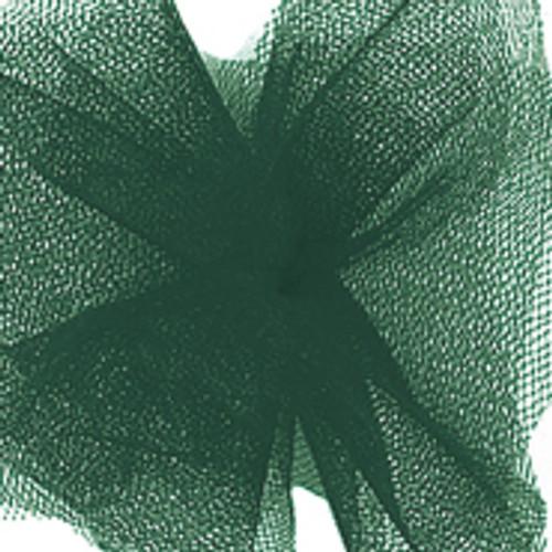 Solid Tulle Fabric - Hunter