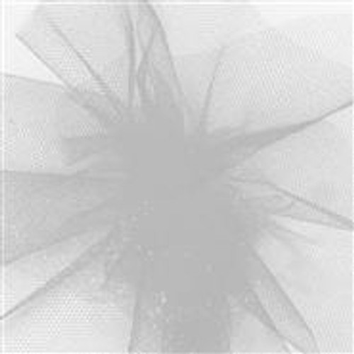 Solid Tulle Fabric - Silver