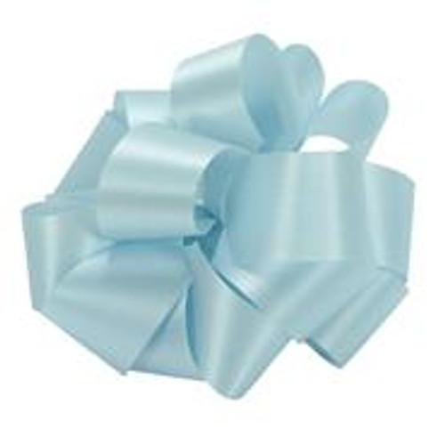 Blue Acetate Satin