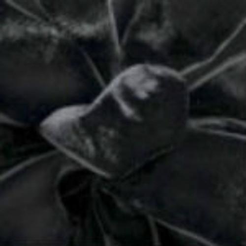 Black Velvet Ribbons - Offray Beacon Hill Velvet.