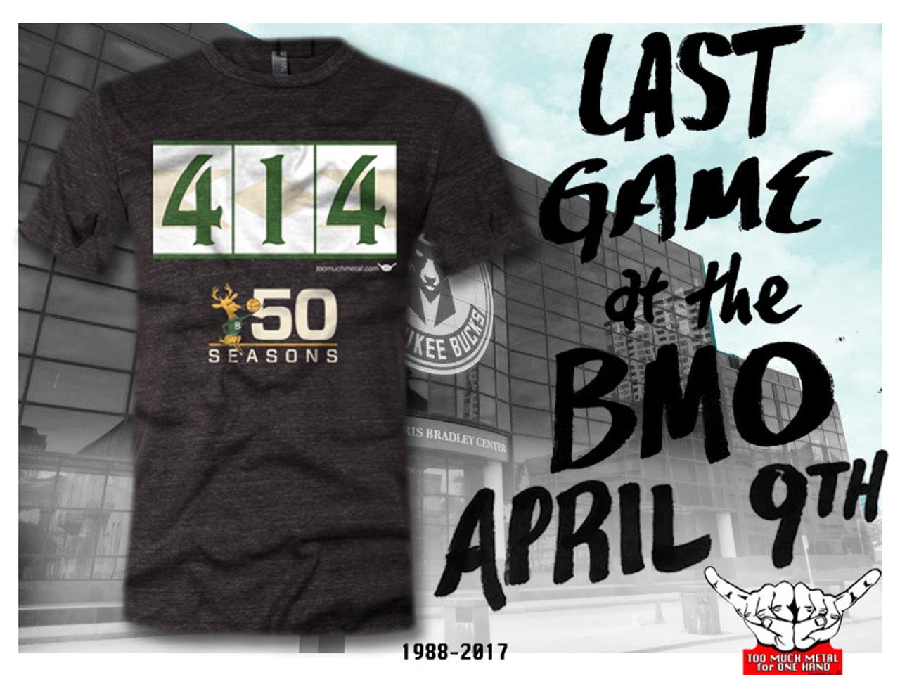 Last regular season Bucks game at Bradley Center