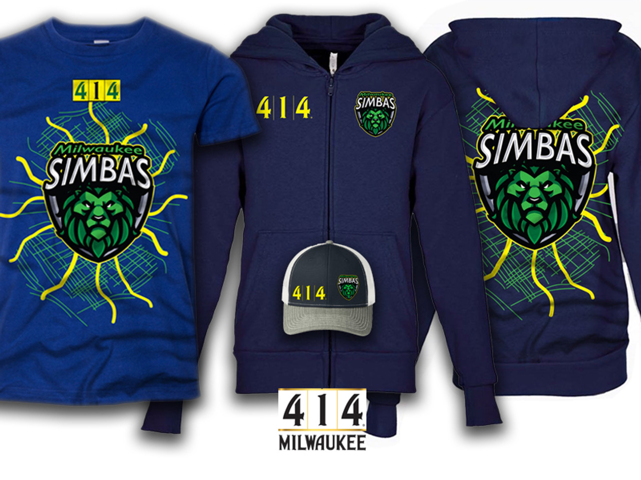 414 / Milwaukee Simbas Collaboration