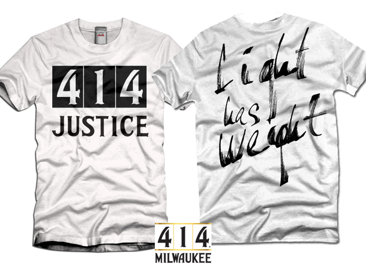 414 Justice. Light has Weight.
