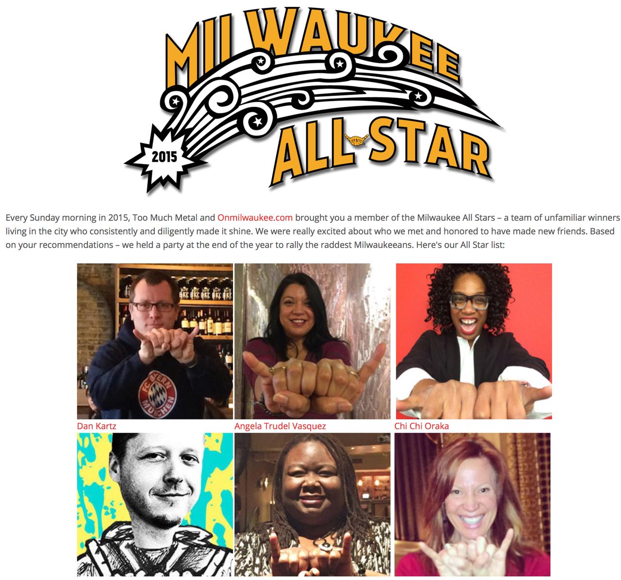 Milwaukee All-Stars 2015
