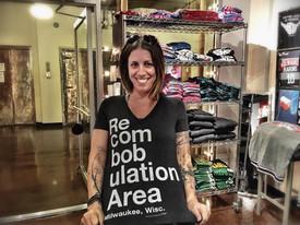 Recombobulation Area Womens t-shirt