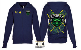 414 / Milwaukee Simbas Hoodie Adult front embroidered
