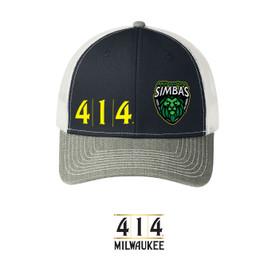 414 / Milwaukee Simbas snap back hat