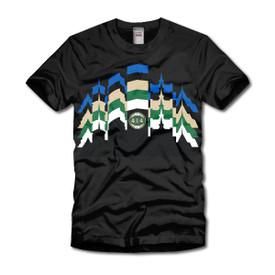 Milwaukee Skyline Silhouette T-Shirt