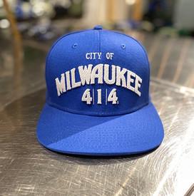 City of Milwaukee hat blue