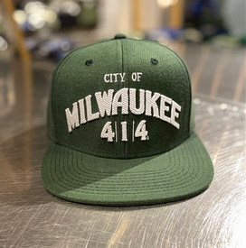 City of Milwaukee hat Green