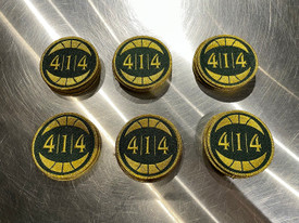 414 Gold Patch
