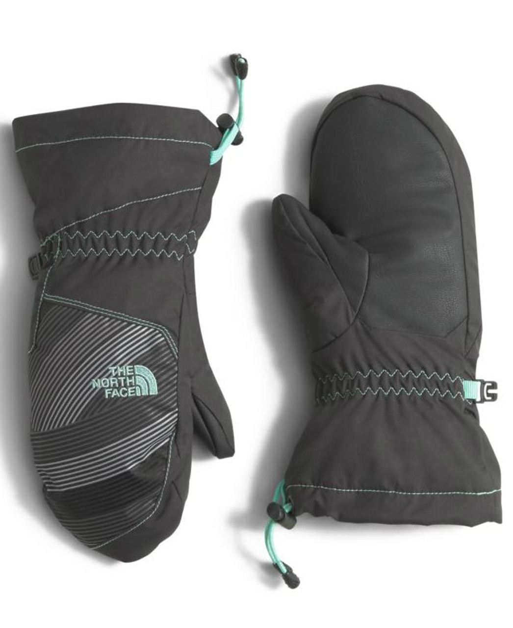 Great warmth for the boys and the girls.  The North Face Youth Revelstoke Mitt   2T8D in Ice Green