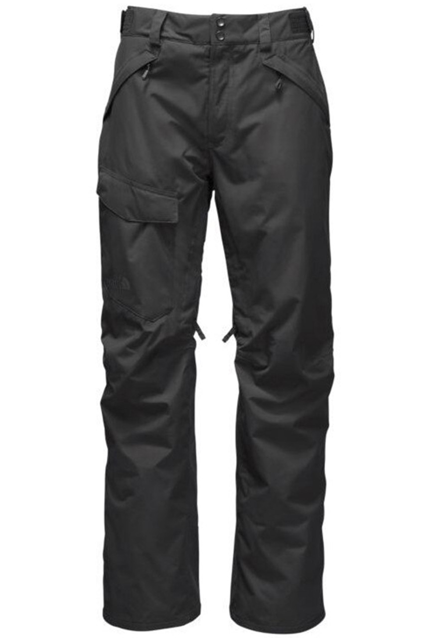 The North Face Men's Freedom Insulated Ski Pants | 2TJI with updated articulated fit in Aphalt Grey