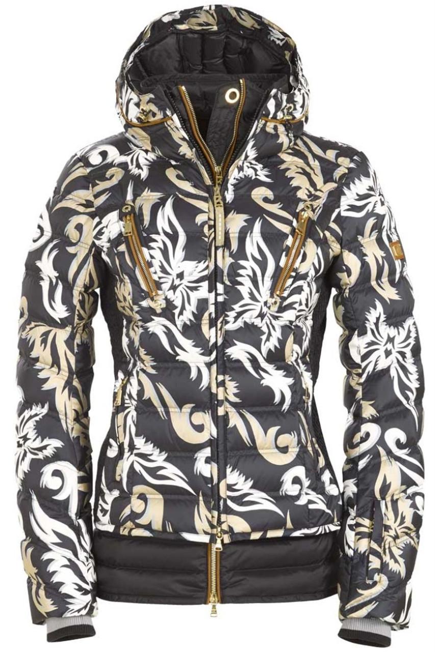 Bogner Down Ski Jacket | Women's Calina-D | 3160 | Black | Front