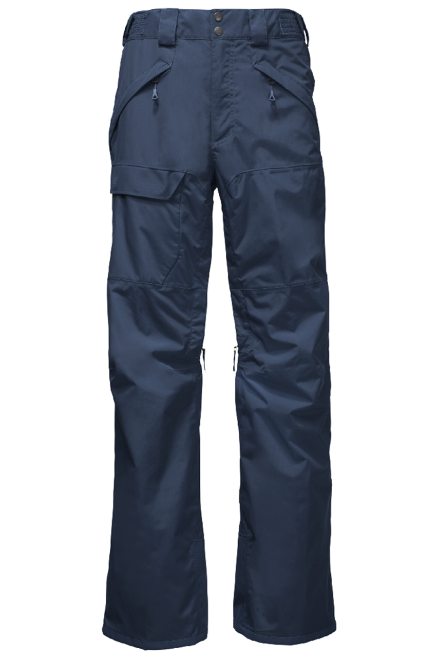 The North Face Ski Pant | Men's Freedom Insulated 18 shown in Shady Blue