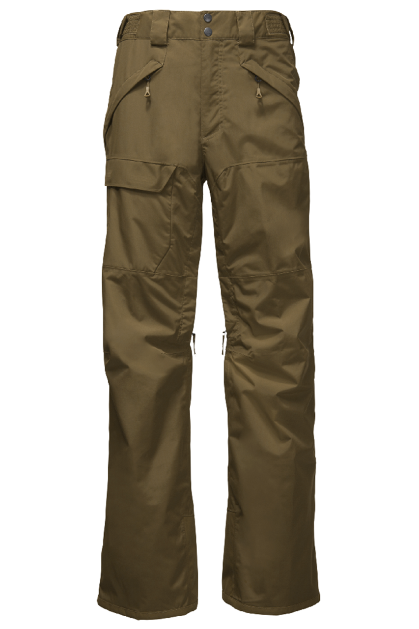 The North Face Ski Pant | Men's Freedom Insulated 18 shown in Military olive
