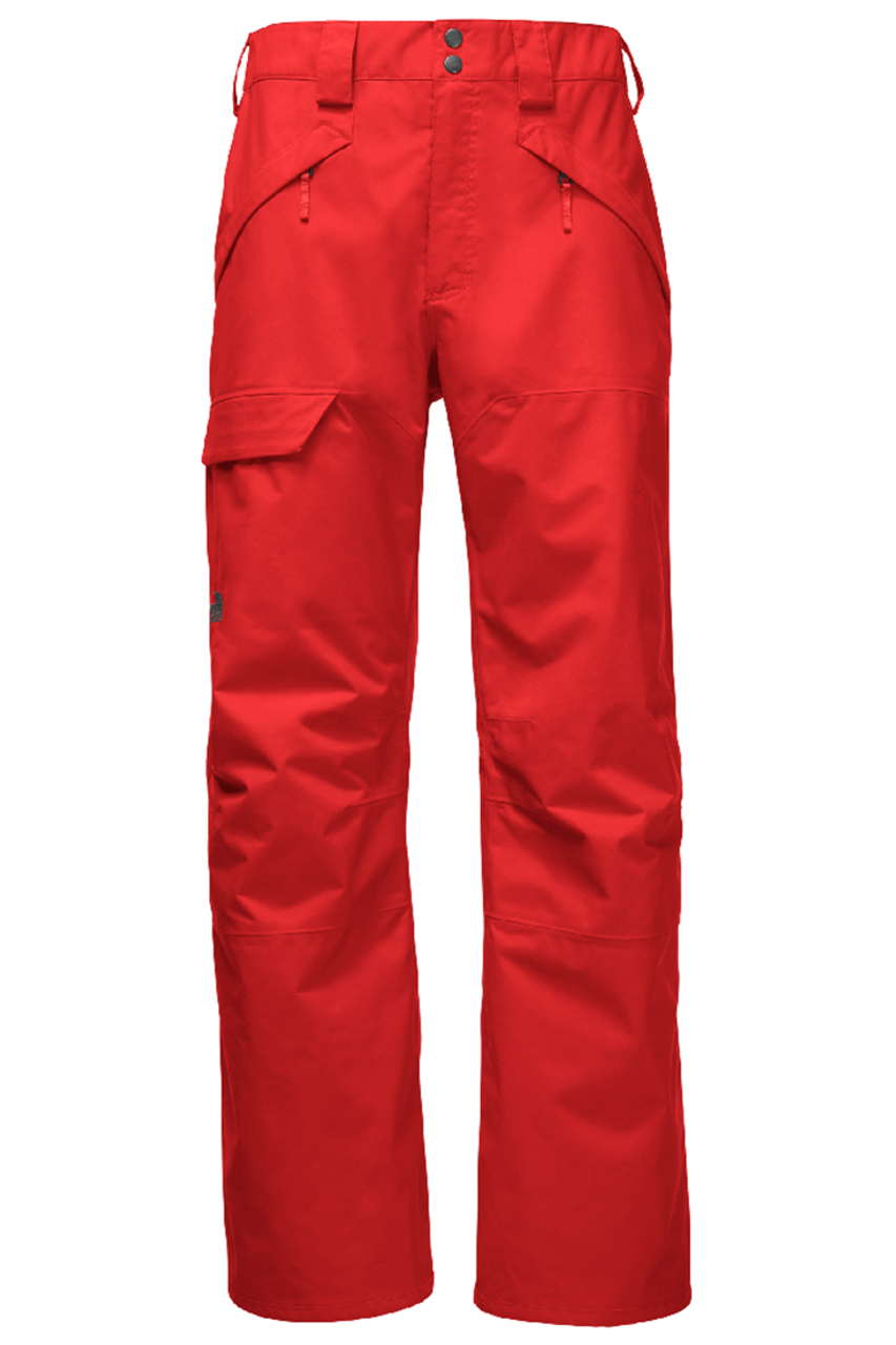 The North Face Ski Pants | Men's Seymore 18 shown in Centennial red