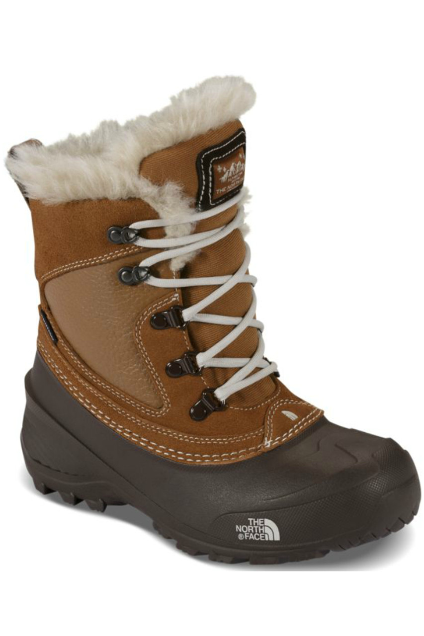 The North Face Shellista Extreme Boot | Girl's | NF0A2T5V | NGW | Dachshund Brown