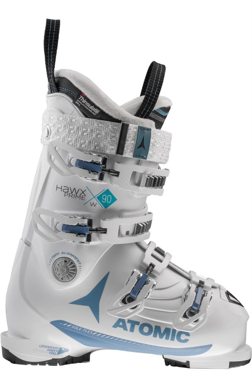 Atomic Ski Boots | Women's Hawx Prime 90W | AE5016460 | White | Denim