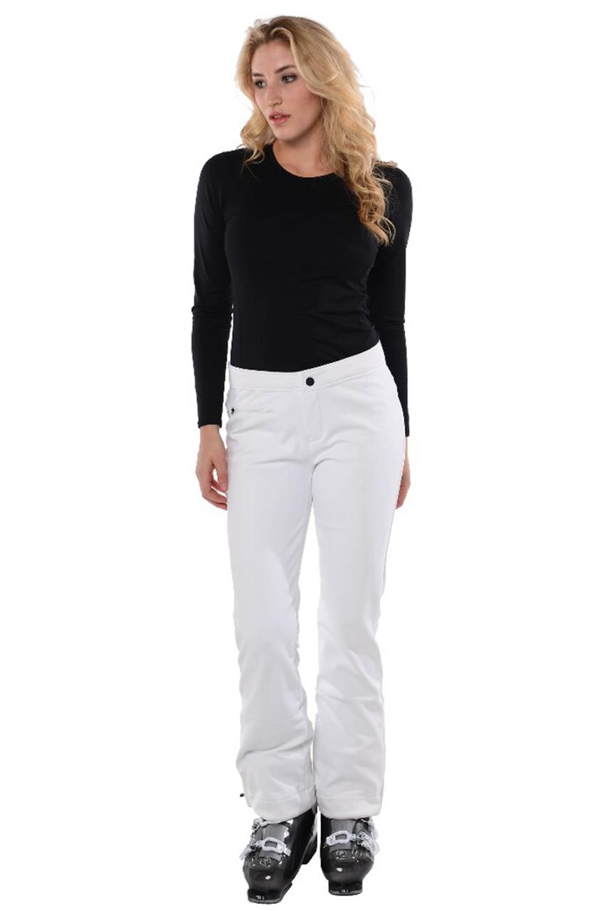 Obermeyer Ski Pants | Women's Bond II shown in White