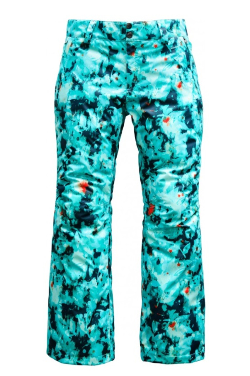 The North Face Sally Ski Pant | Women's | NF0A3339 | 7JH | Trans-antarctic Blue Snowfloral  | Front