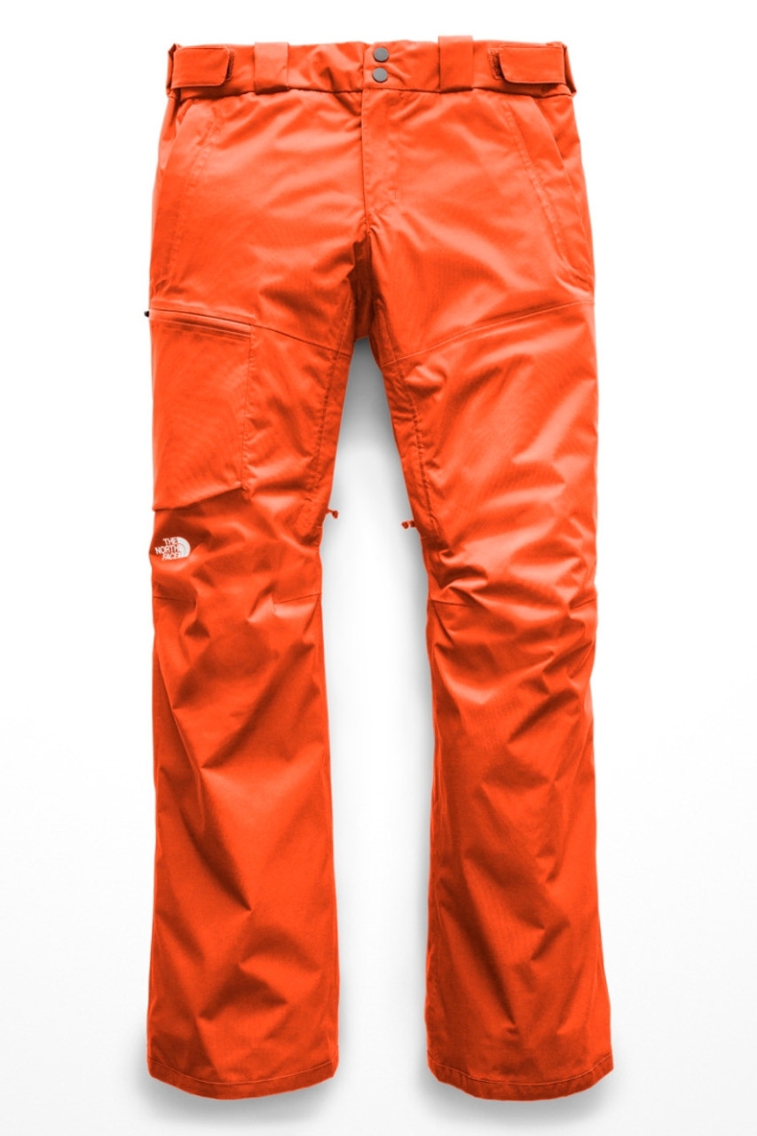 The North Face Sickline Ski Pant | Women's | NF0A3LWF | N4P | Valencia Orange | Front