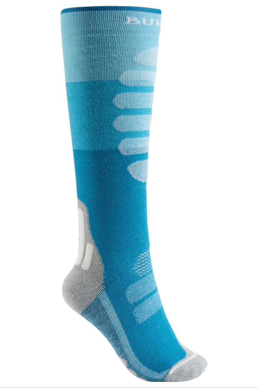 Burton Performance Mid-Weight Sock | Women's | 100671 | Tahoe Block | 600