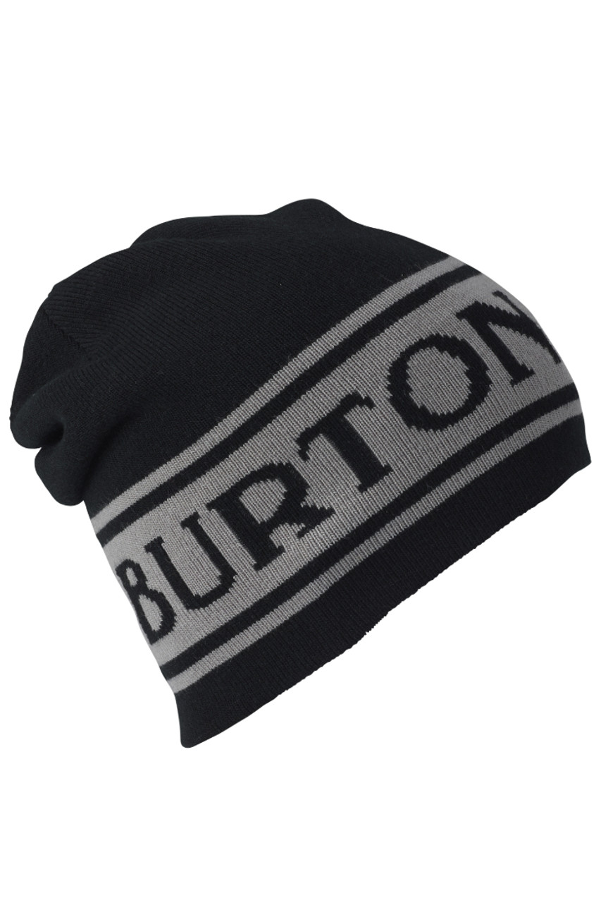 Burton Billboard Reversible Beanie   Men's   104701   4001   True Black   Front