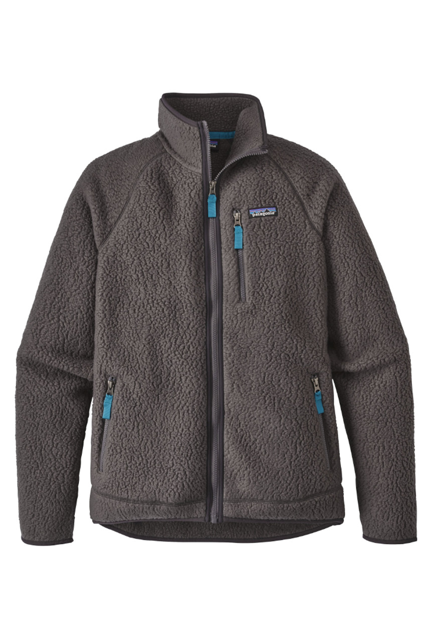 Patagonia Retro Pile Jacket | Men's | 22800 | FGE | Forge Grey | Front