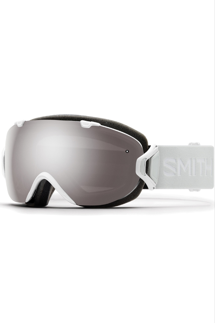 Smith I/OS Goggles + Spare Lens   IS7CP   White Vapor   Chromapop Sun Platinum Mirror