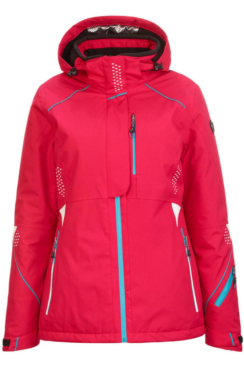 Killtec Noila Ski Jacket   Women's   32340   417   Fuchisa   Front