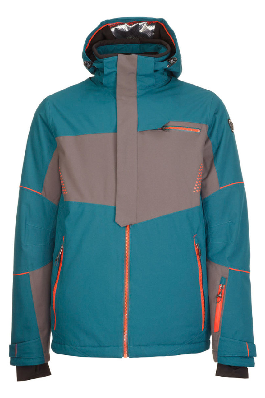 Killtec Janu Ski Jacket | Men's | 32350 | 834 | Petrol | Front