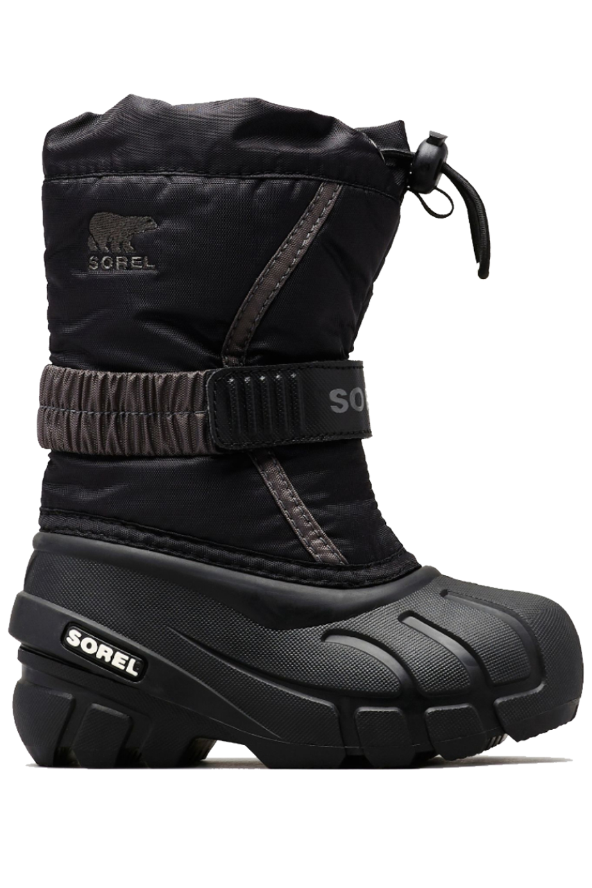 Sorel Flurry Boot | Toddlers | 1638083 | Black | Side