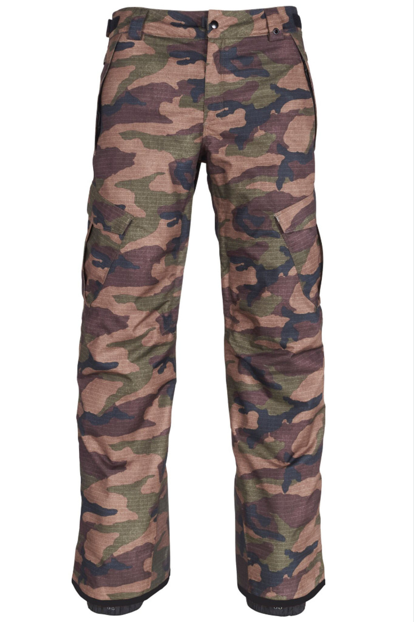 686 Infinity Insulated Cargo Snowboard Pants | Men's | L8W20919 | Camo | Front