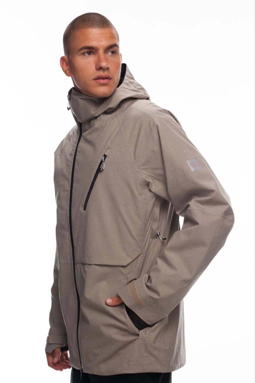 686 GLCR Hyrda Thermagraph Jacket | Men's | L8W10619 | Khaki | Full