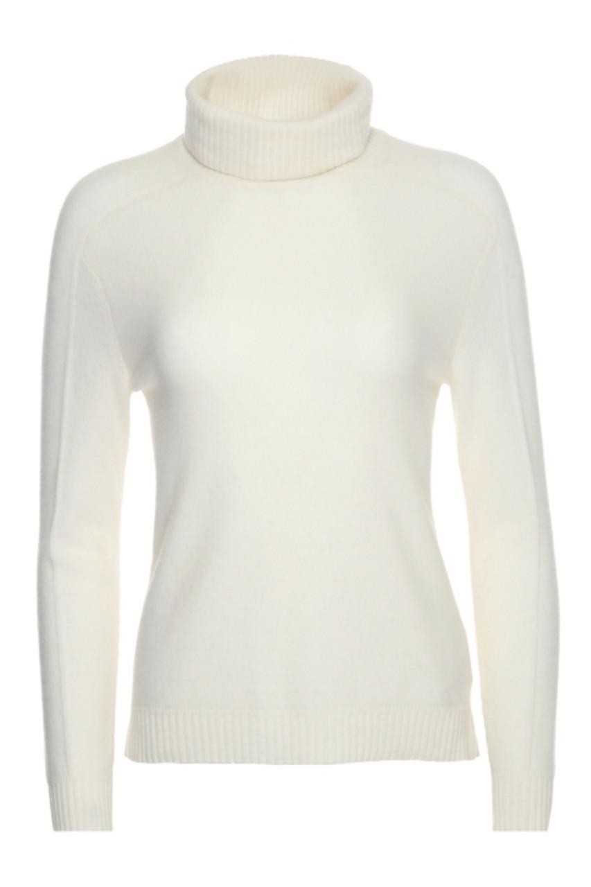 Bogner Vivien-S Cashmere Sweater  | Women's | 816619 | Off White | Front